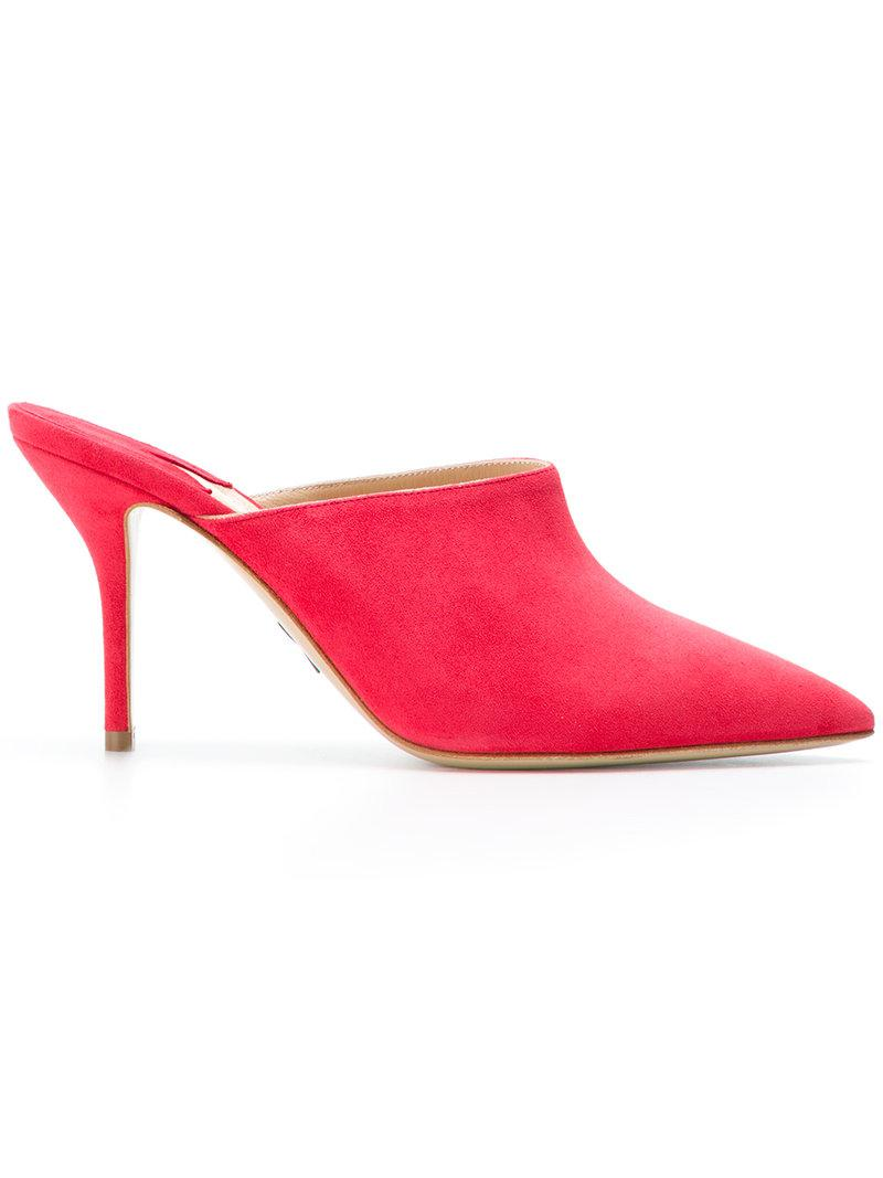 PAUL ANDREW Pointed mules g1kXRuLA
