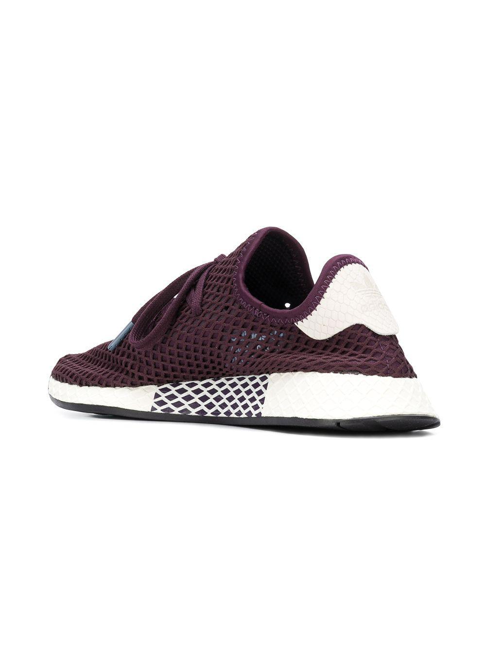 9e9db6e4038 Lyst - adidas Deerupt Runner Sneakers in Purple