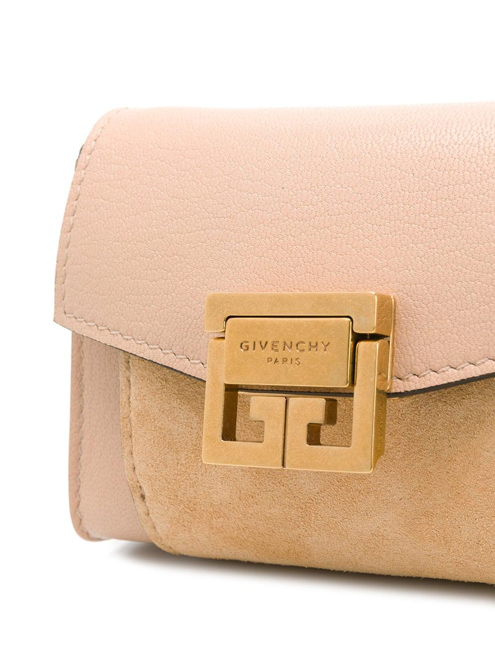 3e4ff4508fa1 Givenchy - Pink Nano Gv3 Shoulder Bag - Lyst. View fullscreen