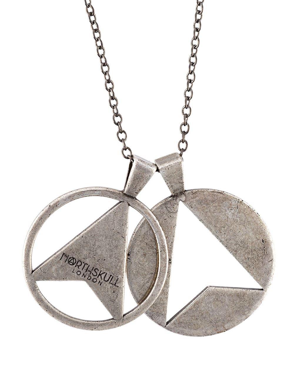 Twin arrow necklace - Metallic Northskull rbHzOT2no