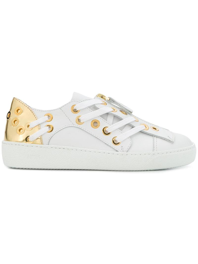 lace-up detail sneakers - White N 4nxG3hZ5DN