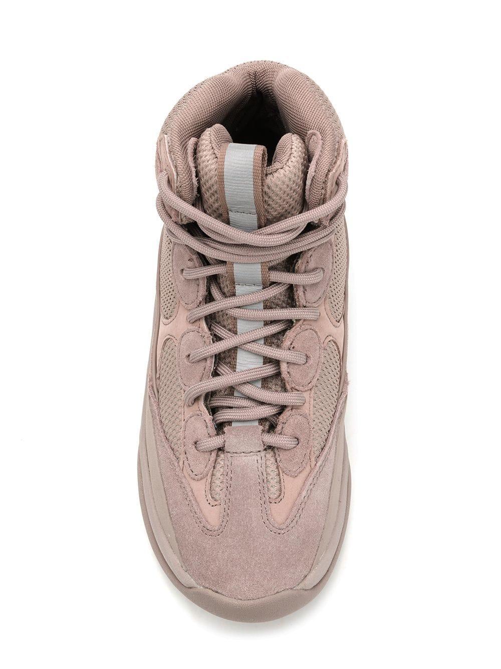 d1d18104386 Yeezy - Gray Desert Boots 35 - Lyst. View fullscreen