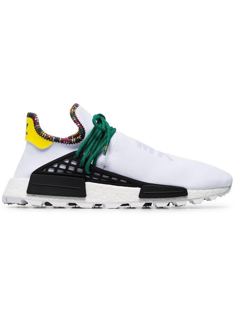 428eeee68 adidas. Zapatillas x Pharrell Williams Human Body NMD de hombre de color  blanco
