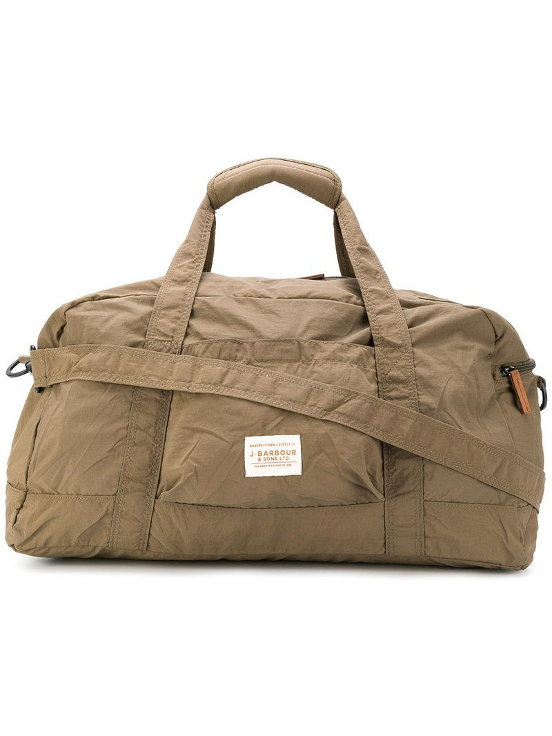 31f53477a Barbour Large Weekender Holdall in Green for Men - Lyst
