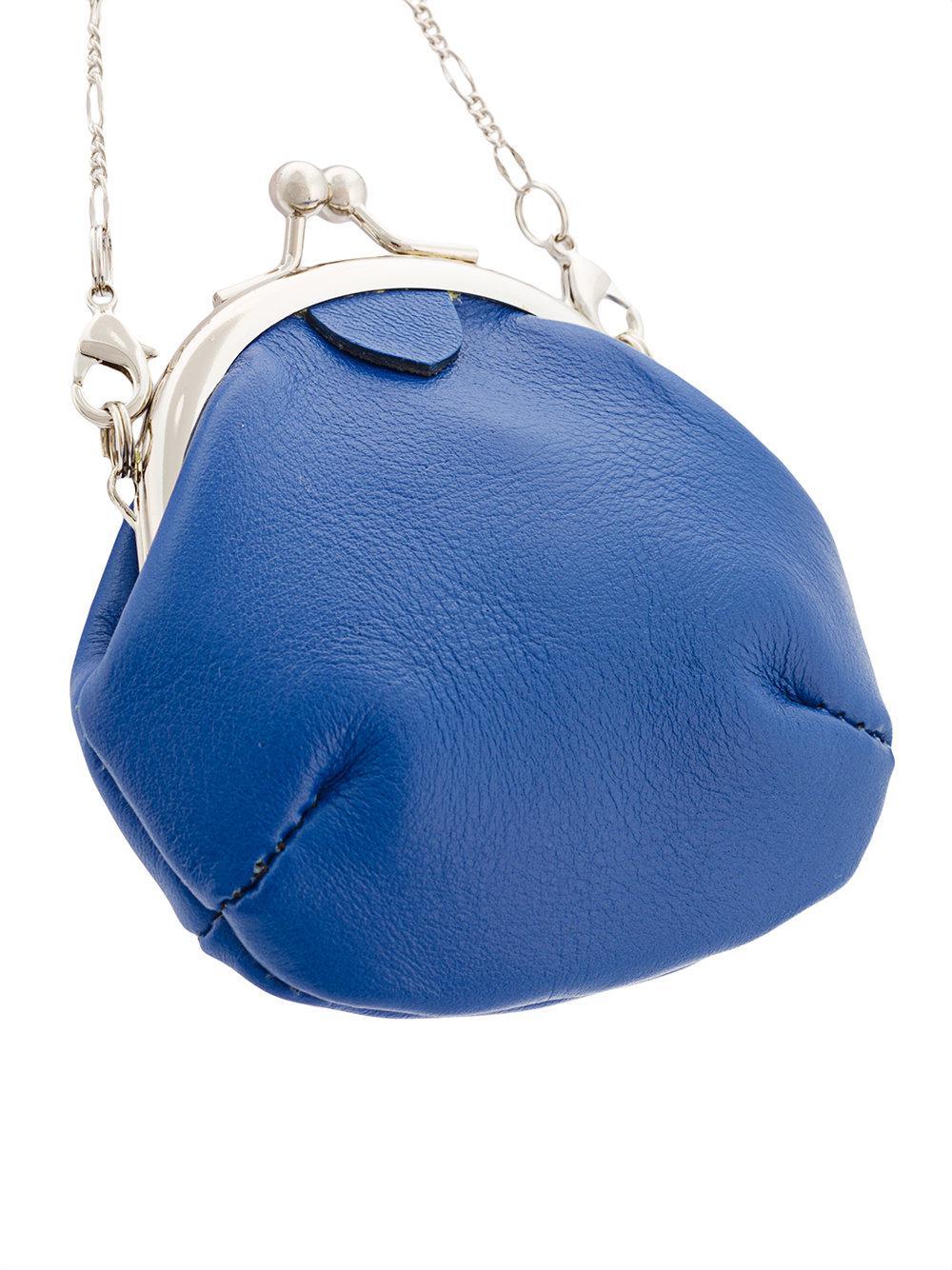 wallet necklace - Blue Yohji Yamamoto NwW2MviYM2