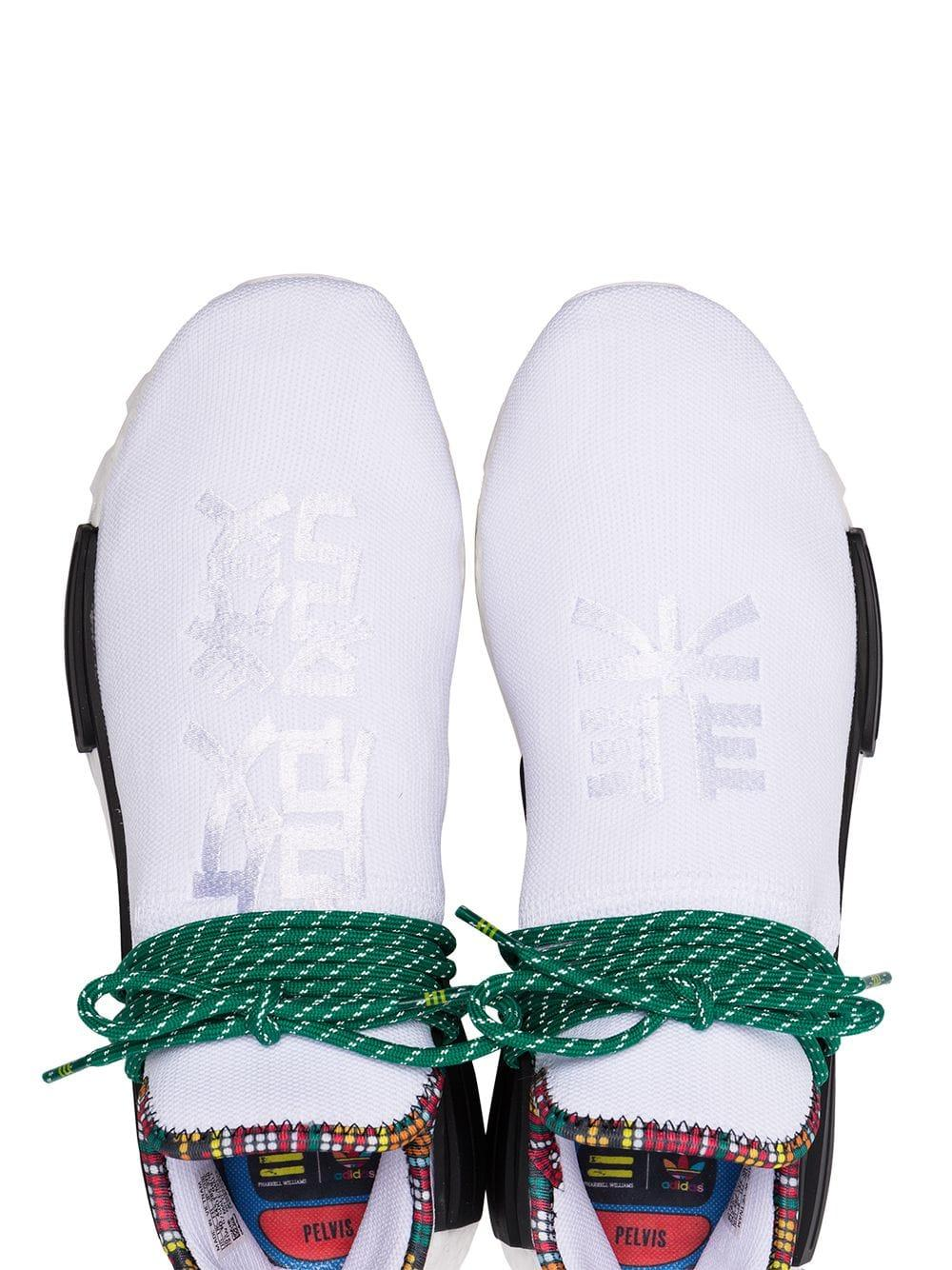 8b0300587 Adidas - X Pharrell Williams White Human Body Nmd Sneakers for Men - Lyst.  View fullscreen