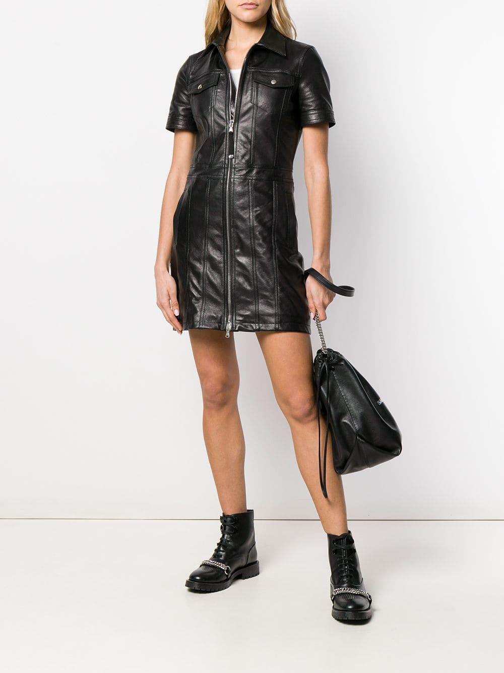 16d23d3effe Lyst - Diesel Black Gold Short Fitted Dress in Black