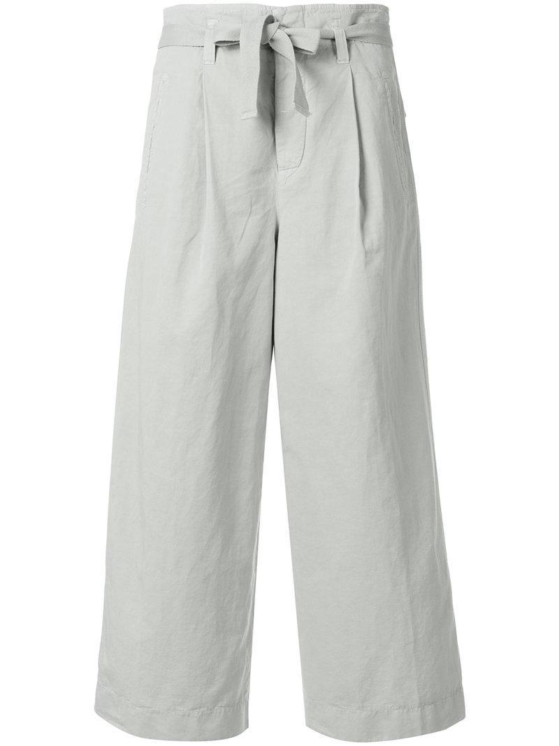 Ceinture À Nouer Un Large Pantalon De La Jambe - Nue Et Tons Neutres Incotex mhlvWe