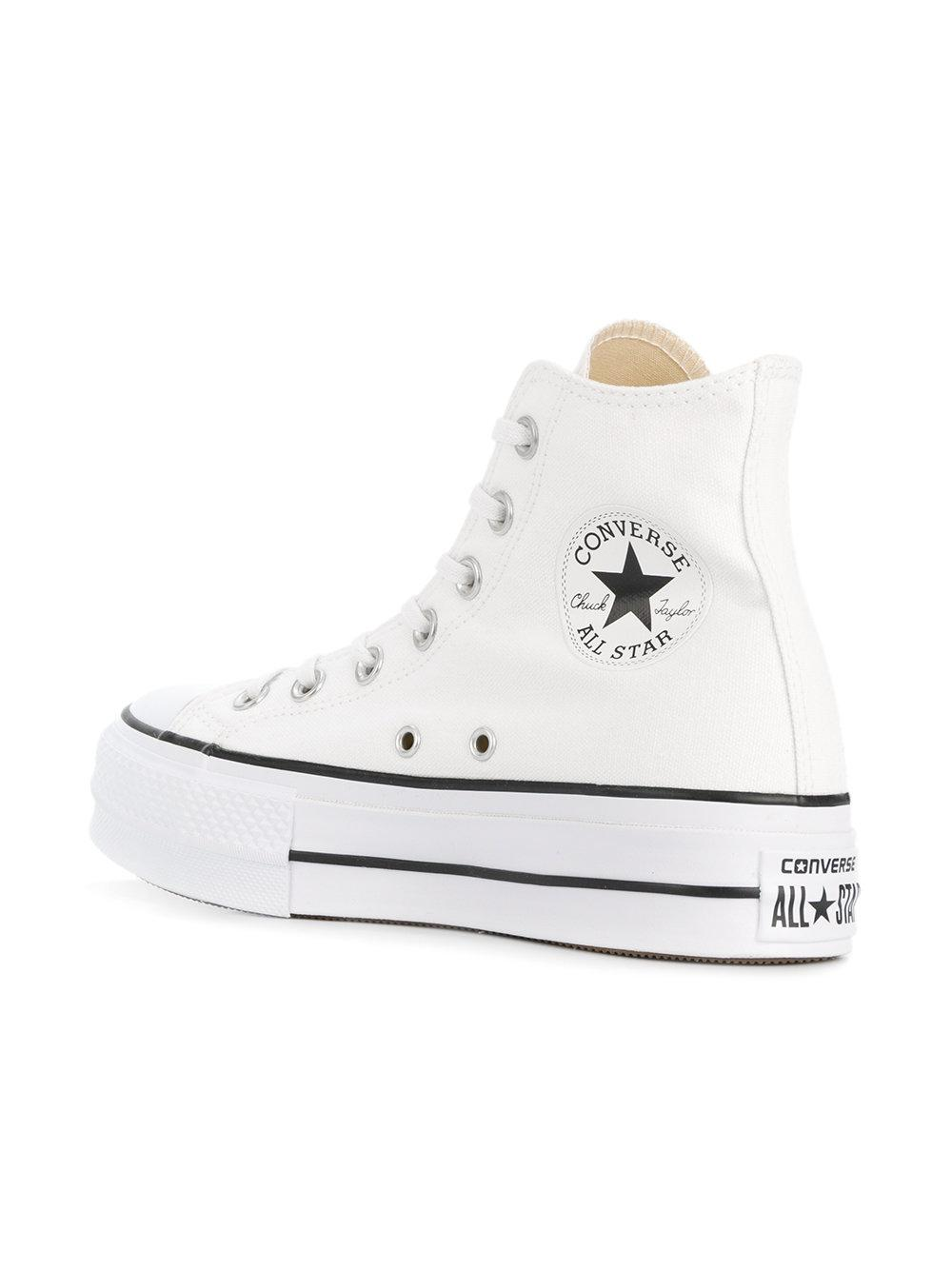 a3303491c0dd Gallery. Previously sold at  Farfetch · Women s Converse Platform ...