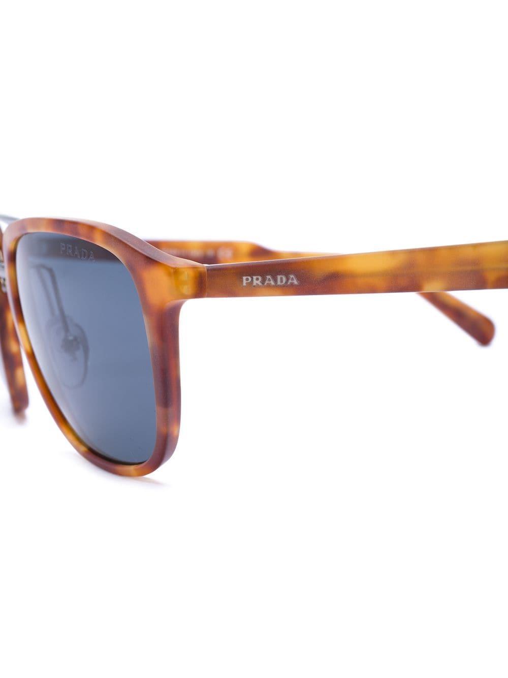 c54b2221122 Lyst - Prada Tortoiseshell Square Frame Sunglasses for Men