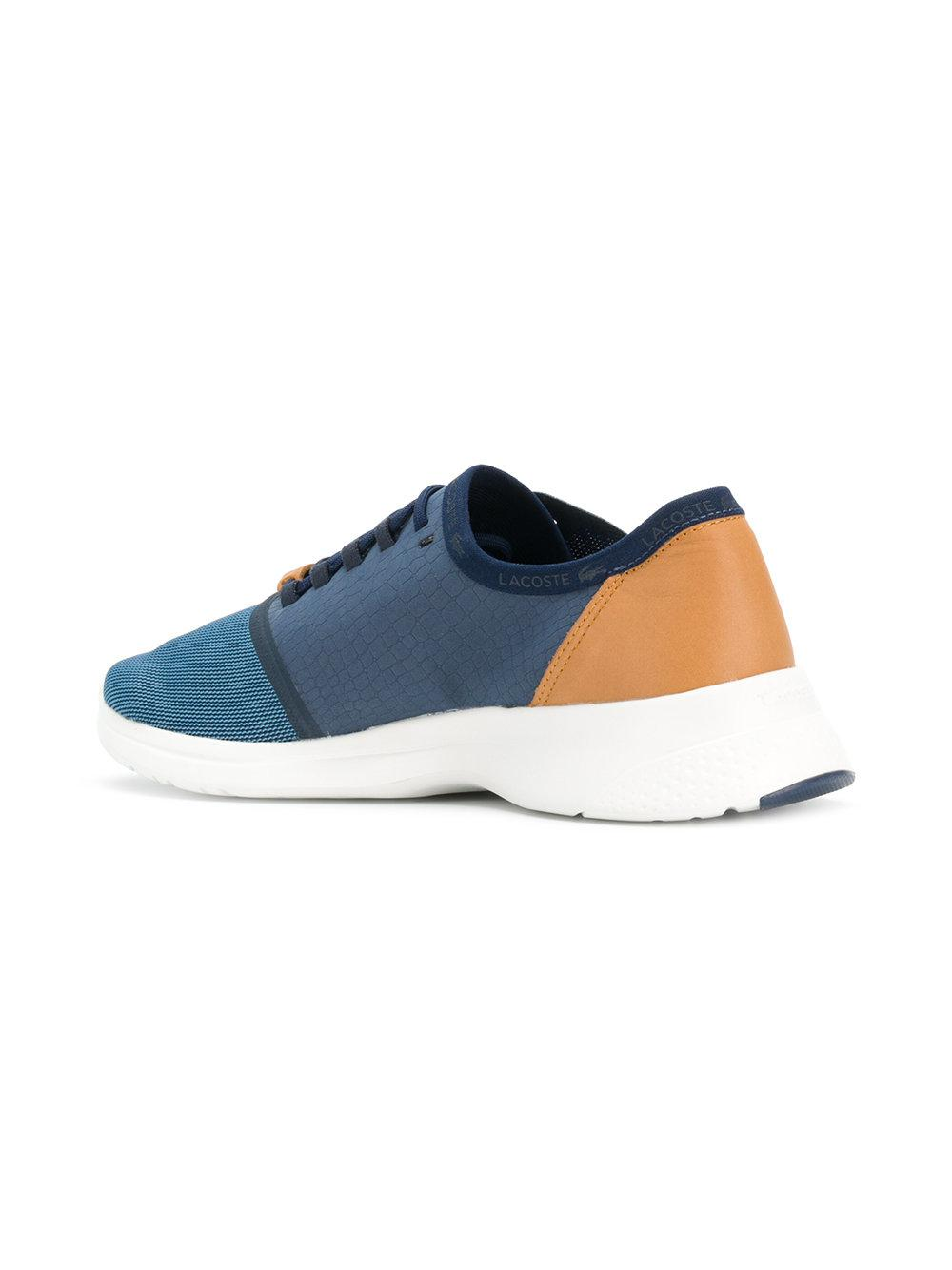 colour-block sneakers - Blue Lacoste vNKzzf