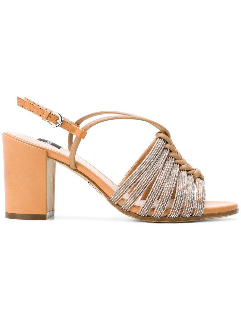 RODO Strappy block heel sandals DpKg4J