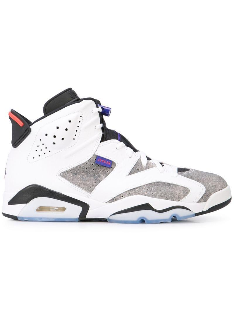 af58b72100ecd7 Lyst - Nike Air Jordan 6 Retro Sneakers in White for Men - Save 23%