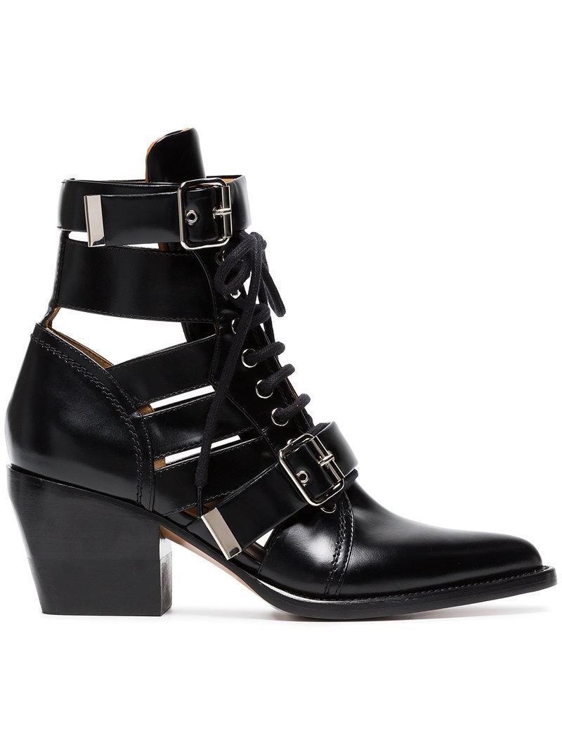 Quaisha boots - Black Chlo Cheap Sale 100% Authentic Discount Fashion Style Perfect Cheap Price cKA5DAkijf