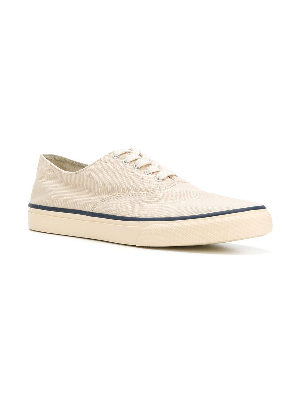 608748644b6 ... White Low Top Sneakers for Men - Lyst. View fullscreen