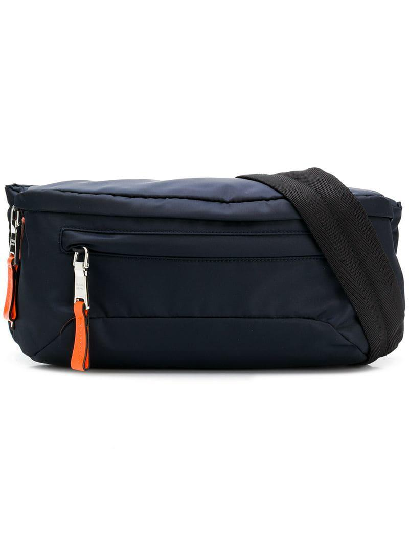 2200f0fb0d3d Prada - Blue Panelled Belt Bag for Men - Lyst. View fullscreen