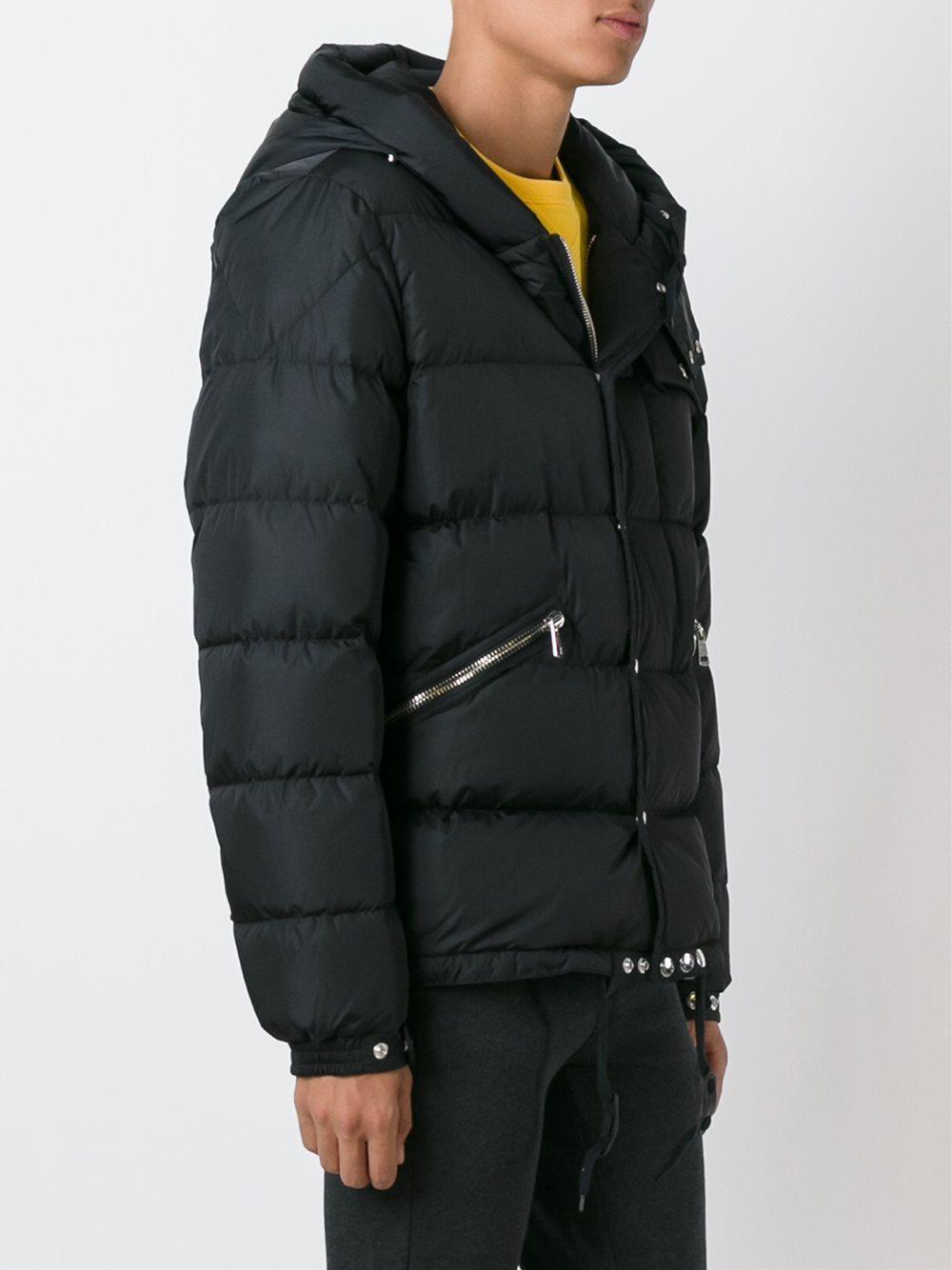 6ef303c95710 Lyst - Moncler  lioran  Padded Jacket in Black for Men