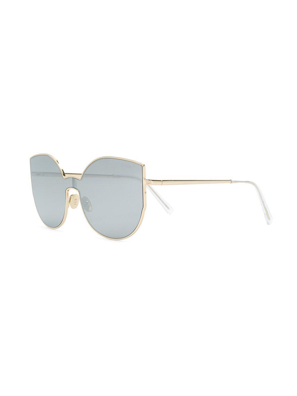 In Lyst Oversized Retrosuperfuture Metallic Sunglasses tPqP7rw