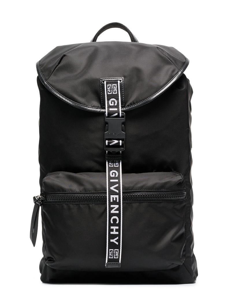 c7a1965fe70d Givenchy - Black Light 3 Ticker Backpack for Men - Lyst. View fullscreen