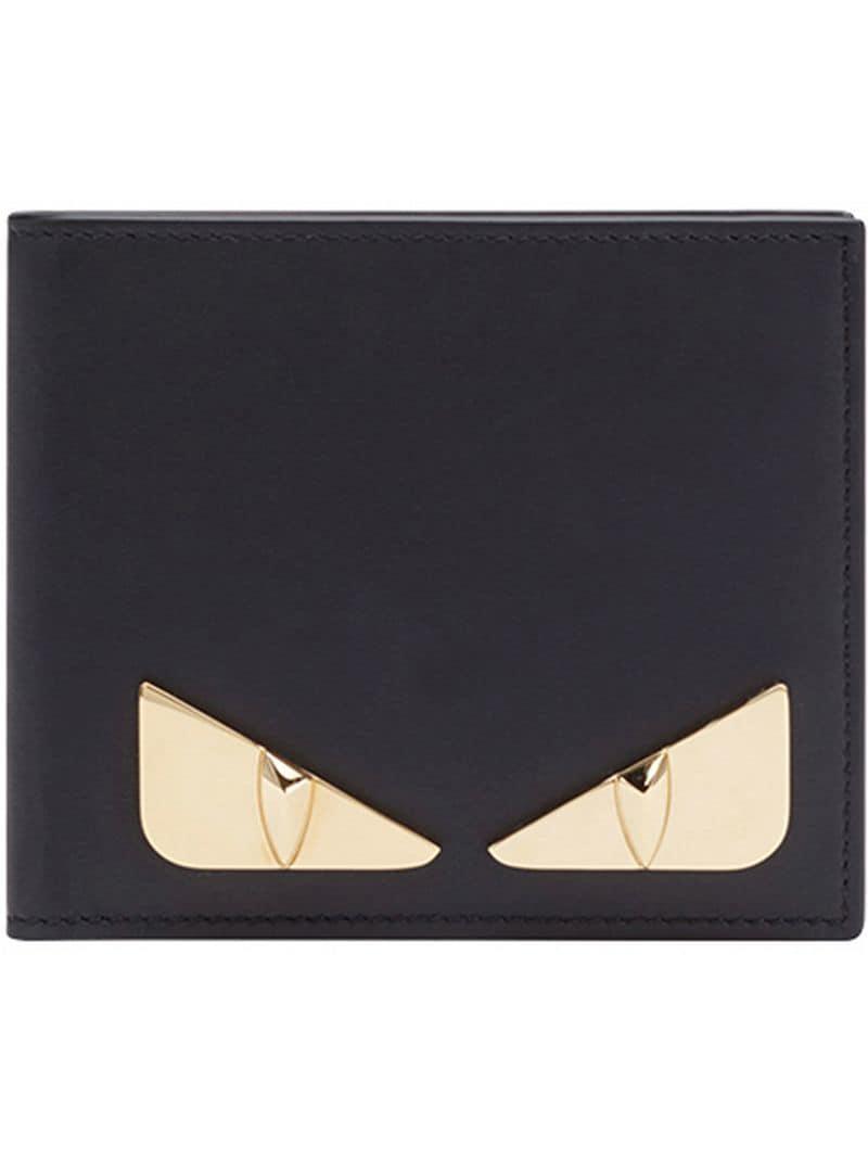 265ab45d38e3 Fendi Bag Bugs Bifold Wallet in Black for Men - Save 13% - Lyst