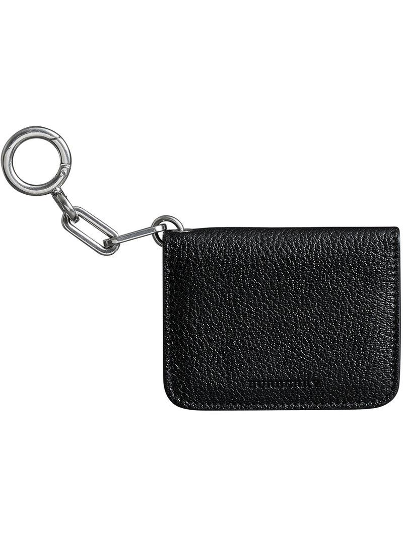 Burberry Link Detail Leather ID Card Case Charm Release Dates Sale Online Purchase Cheap Price Cheapest Cheap Price 2018 Cheap Price t3K0cqU