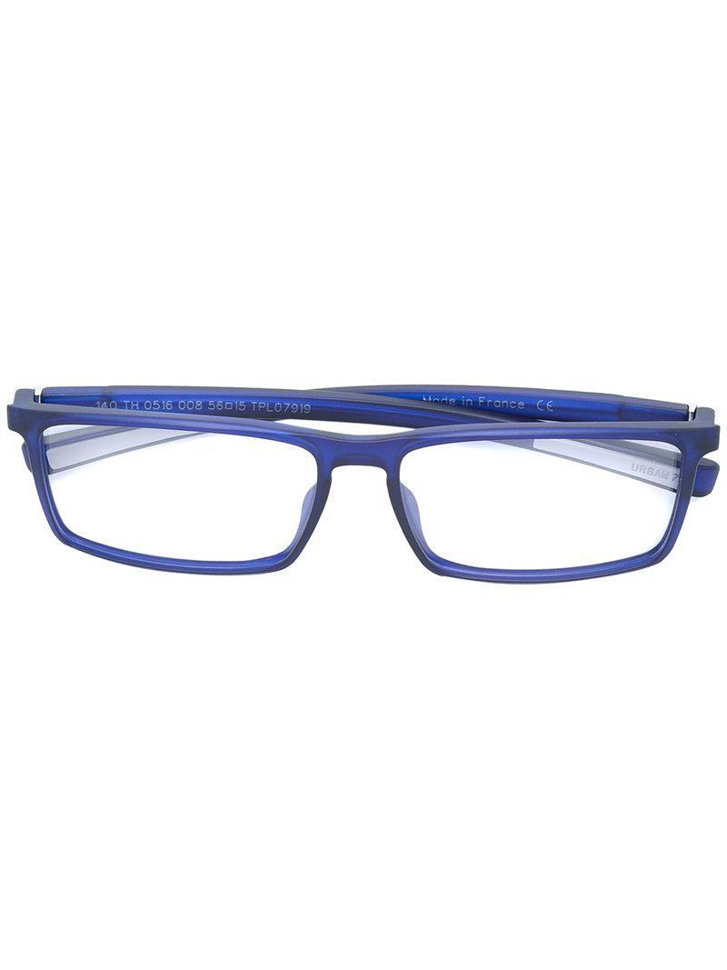 Lyst - Lunettes Urban 7 Tag Heuer en coloris Bleu f0bd05c51d72