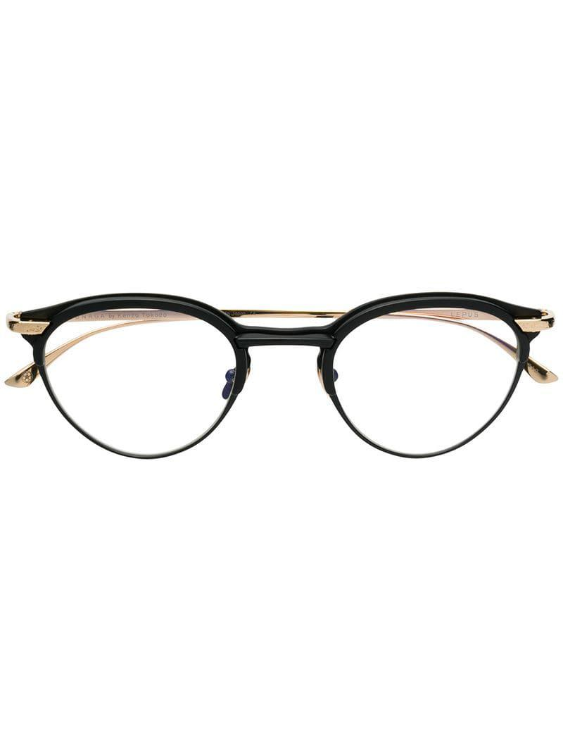 de033907878 Masunaga X Kenzo Takada By Lepus Glasses in Metallic - Lyst
