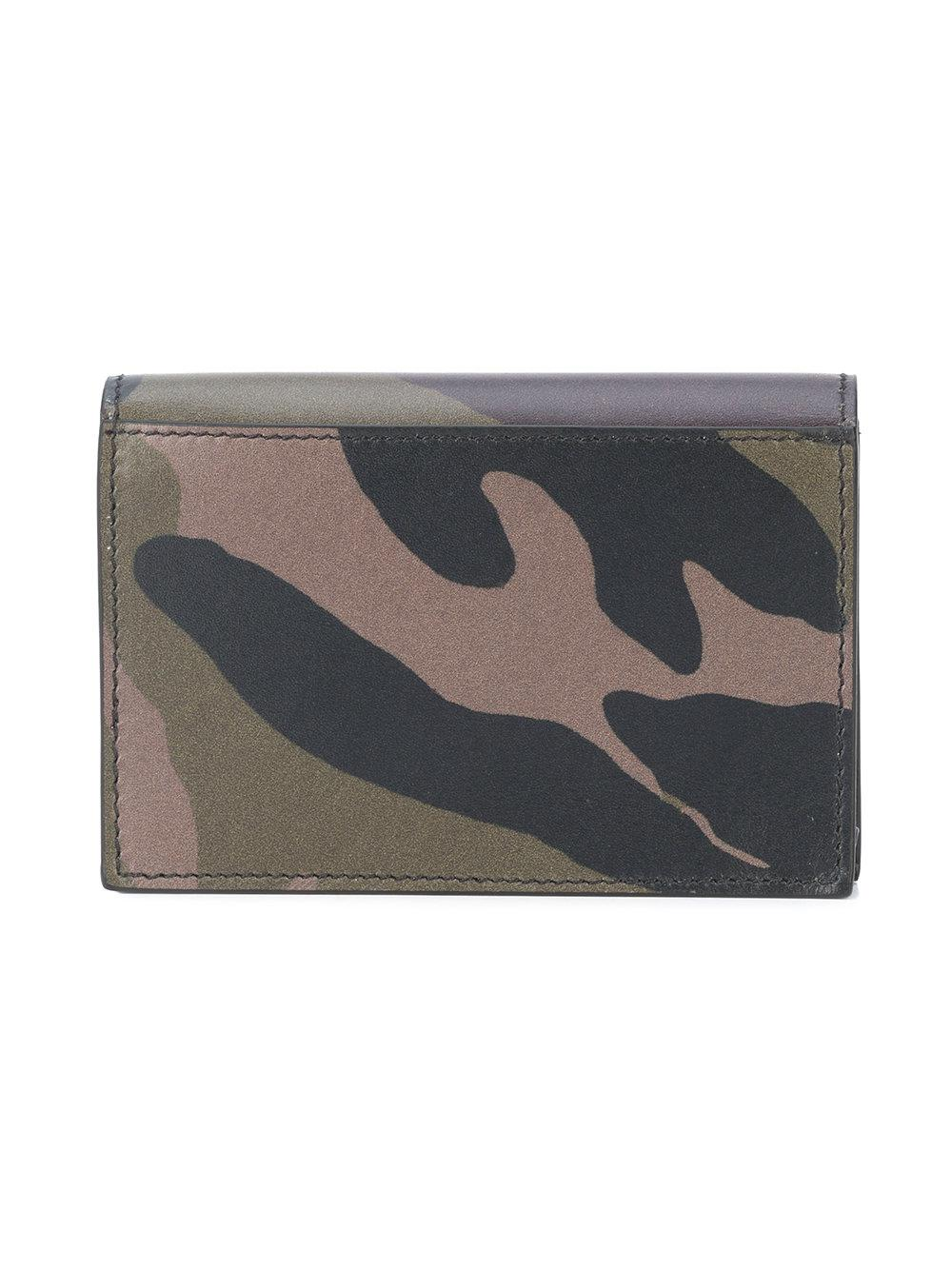 Lyst givenchy camouflage print business card case in black print business card case lyst view fullscreen reheart Images