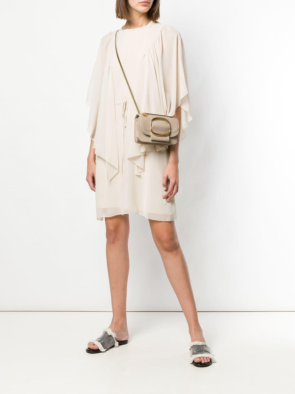 df21192e2b1d Lyst - See By Chloé Hopper Cross-body Bag in Natural