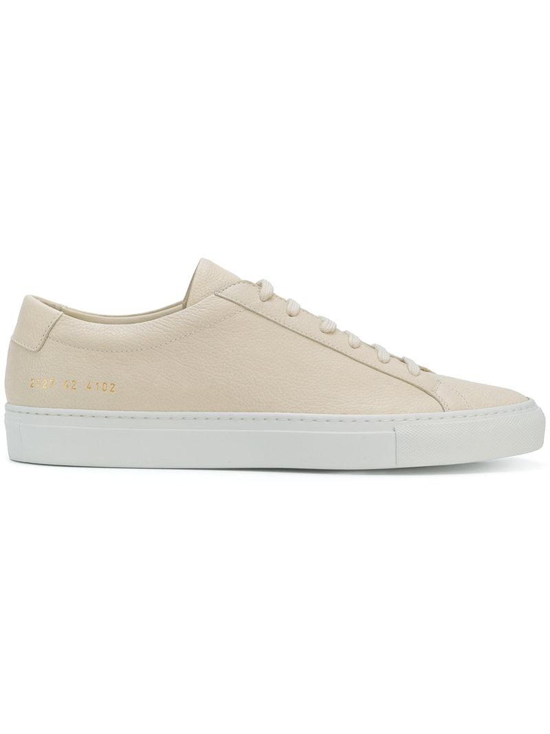 lace-up sneakers - Nude & Neutrals Common Projects Sale With Mastercard Free Shipping High Quality Cheap Authentic Outlet yDsOgtKVdi