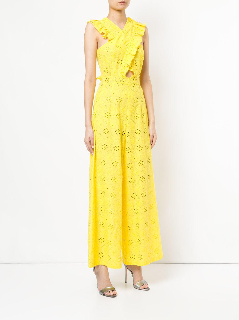 5a0905b2179 Lyst - Alice McCALL Limonada Jumpsuit in Yellow