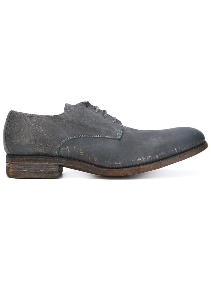 A Diciannoveventitre distressed Derby shoes amazon online pNMnmQkwu