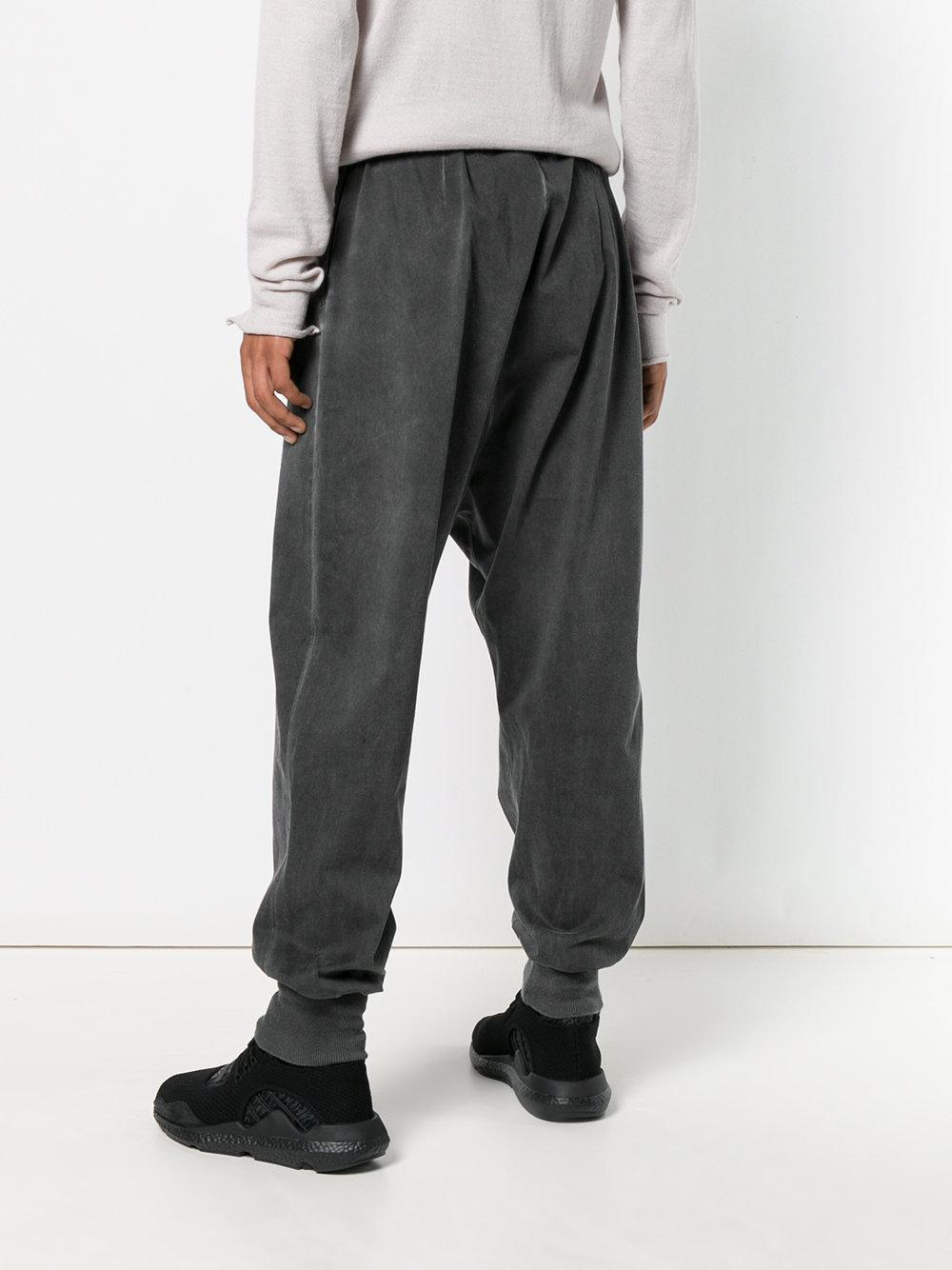 overdyed drop crotch joggers - Grey Lost And Found Rooms Outlet Perfect Cheap Store Eastbay Cheap Price Cheap Sneakernews Finishline Cheap Online w7fqi