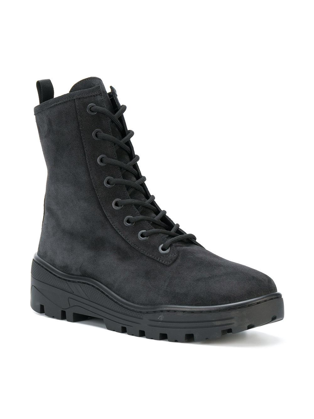 14723938396c4 Lyst - Yeezy Combat Boots in Black for Men - Save 74%