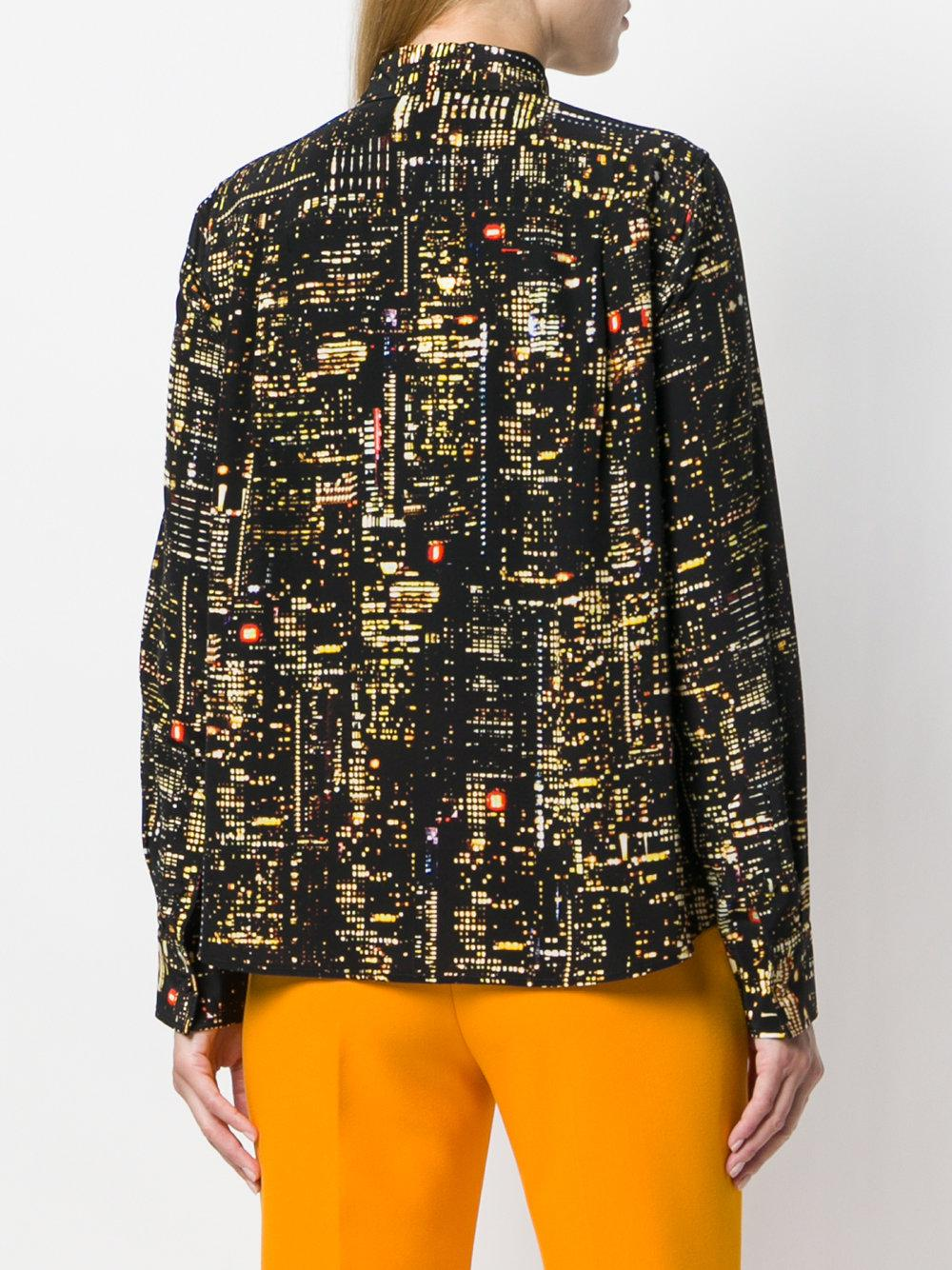 Cheapest Price Cheap Price city lights printed blouse - Multicolour Marc Jacobs Cheap Prices Reliable Discount From China Order Reliable Online WTSLSSi