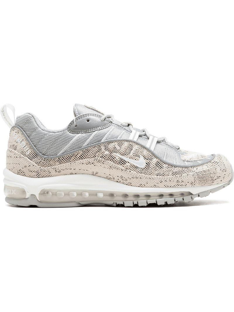 Lyst - Nike Air Max 98 supreme Sneakers in White for Men baca50fa2