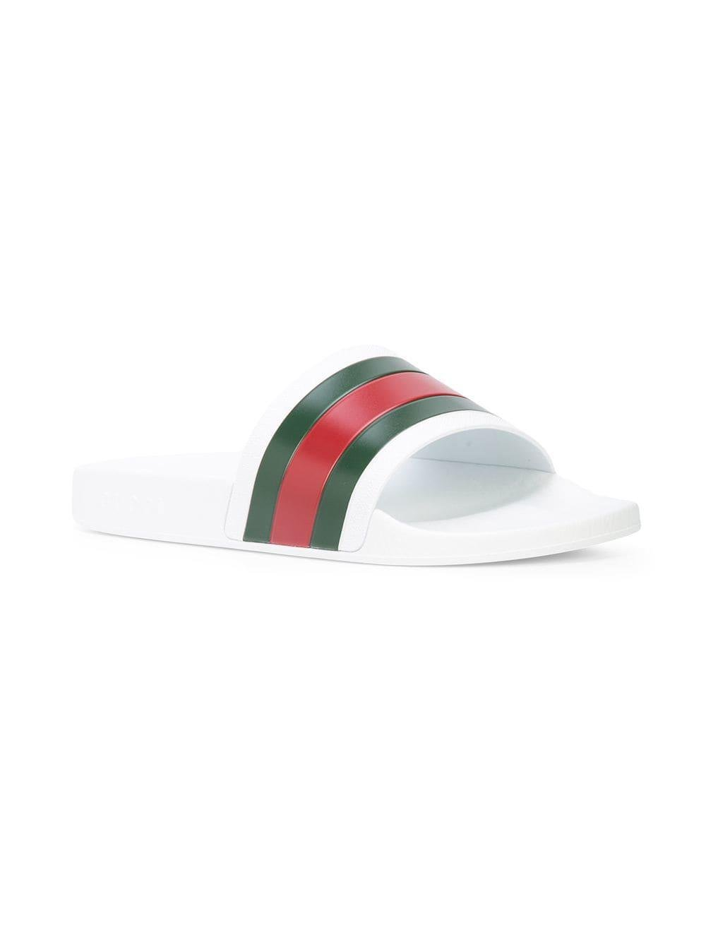 f2e42d0a6bb4 Gucci Green And Red Slides - Best Photos Of Green Simagen.Org
