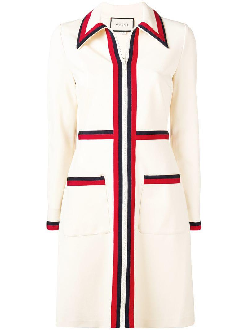 857bee76e Gucci Classic Striped Day Dress - Save 51.74648901692474% - Lyst