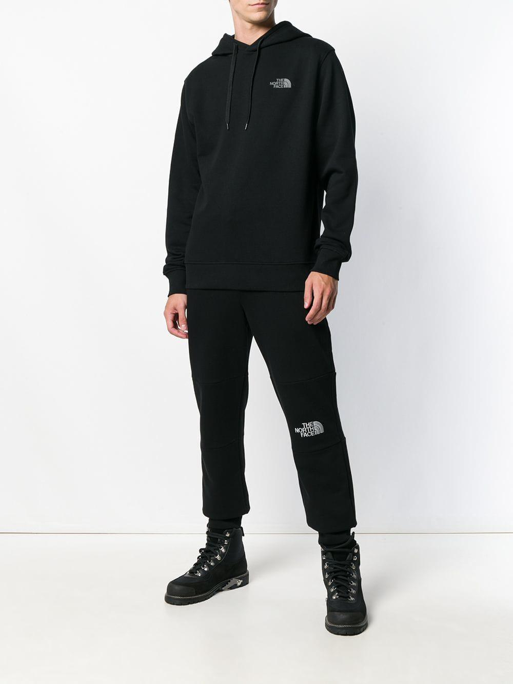 ddb9ff9b3 The North Face Logo Print Hoodie in Black for Men - Lyst