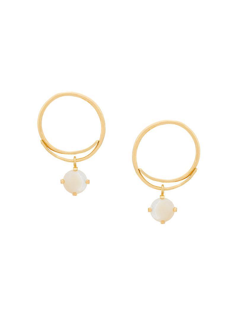 Wouters & Hendrix Technofossils earrings - Metallic 0AIzcuZP