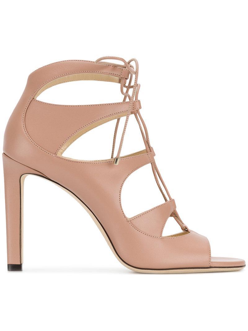 Blake 85 leather sandals Jimmy Choo London 2mskc5BmHt