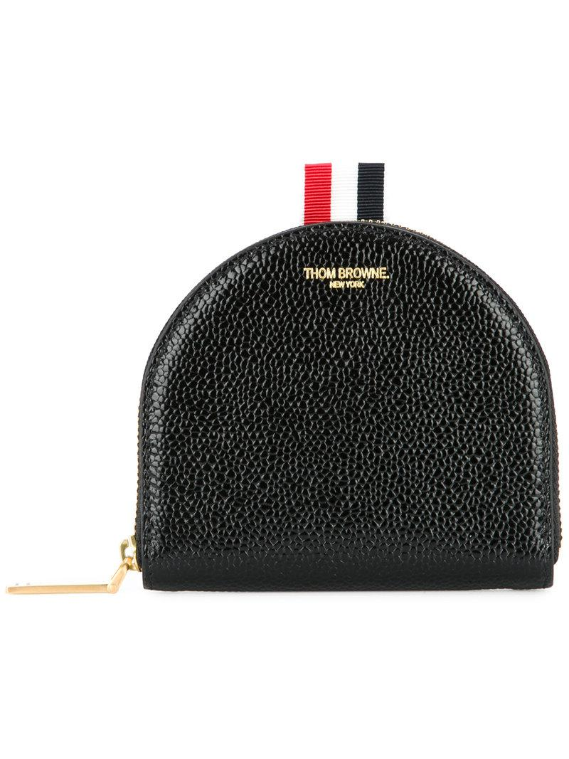 Black Small Vanity Coin Pouch Thom Browne Wcof565sq