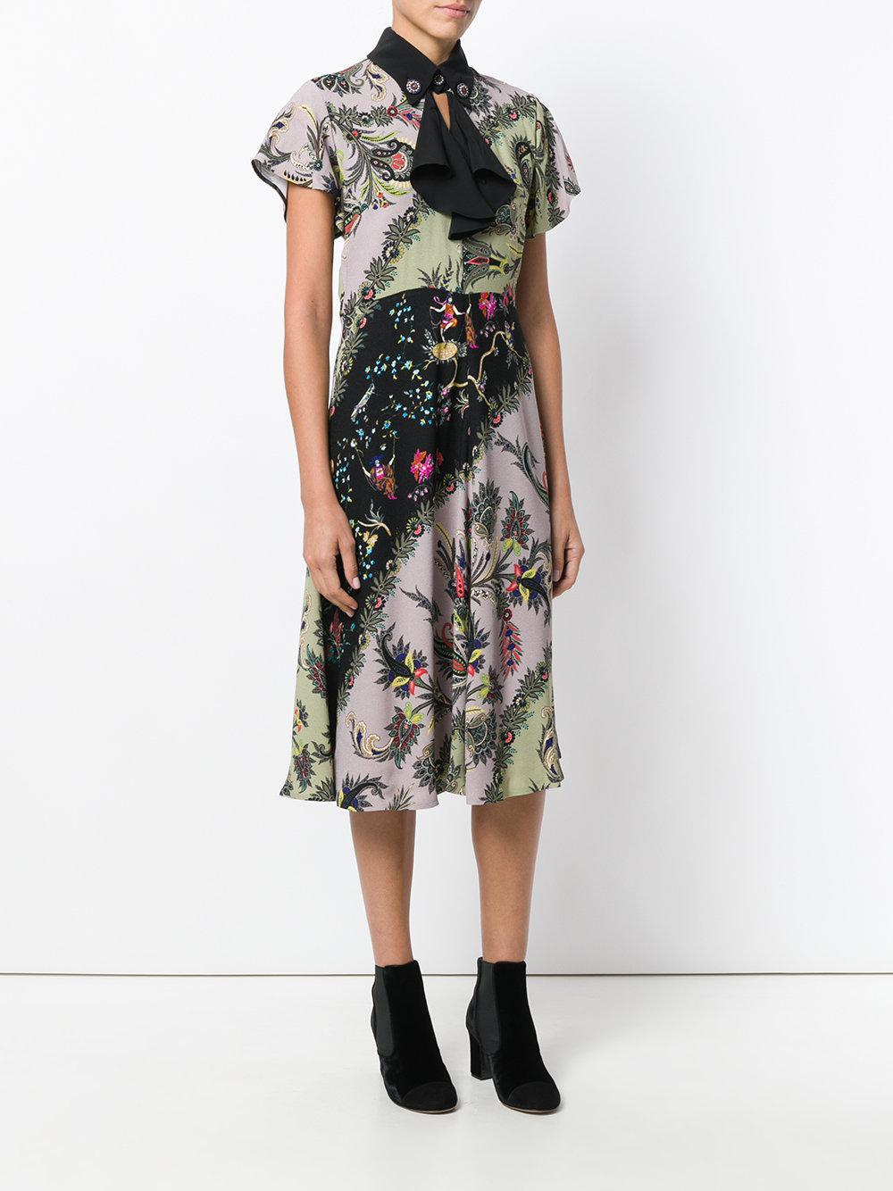 printed flared dress - Multicolour Etro kPgeu9e