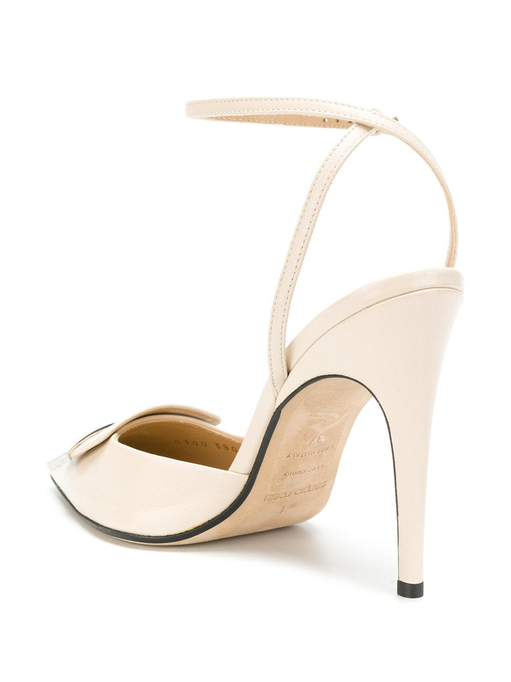 pointed toe pumps - Nude & Neutrals Sergio Rossi aKbbk05i