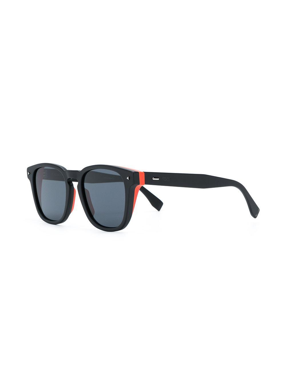 2c7c40b6224 Lyst - Fendi I See You Sunglasses in Black