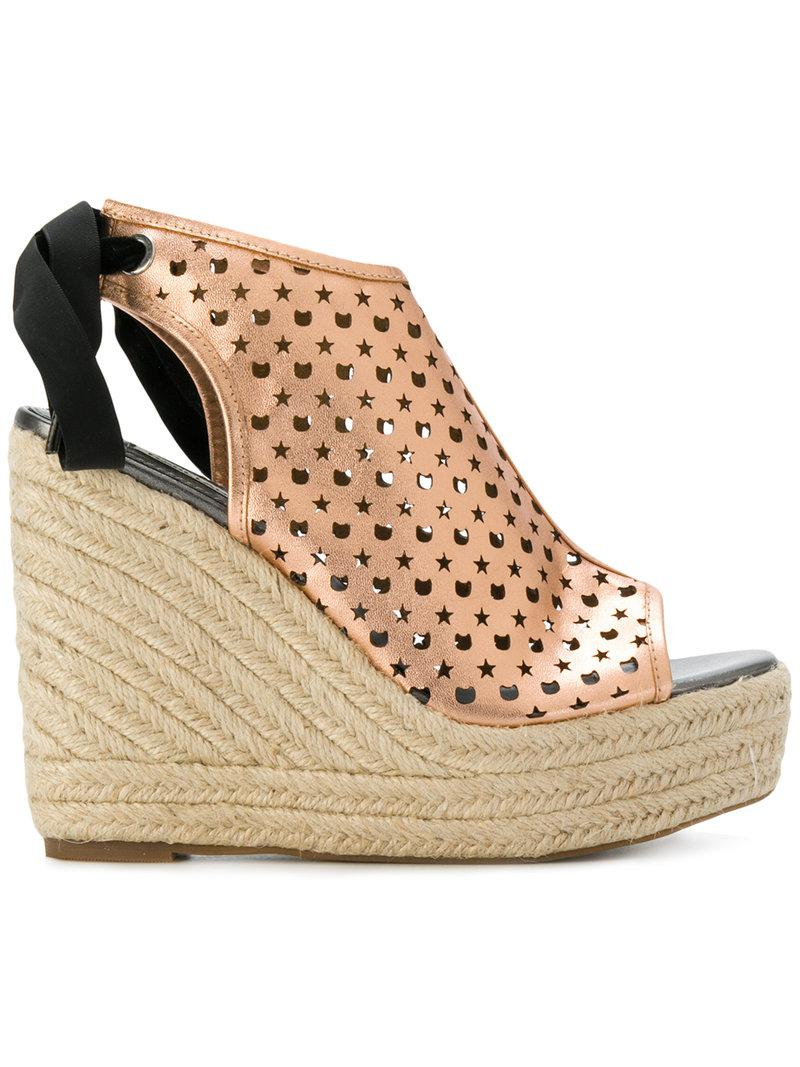 Recommend Sale Online Cheap Good Selling Karl Lagerfeld KAMINI HI Kameo Kut-Out Mule Low Cost Sale Online Free Shipping Huge Surprise z87XghCjr