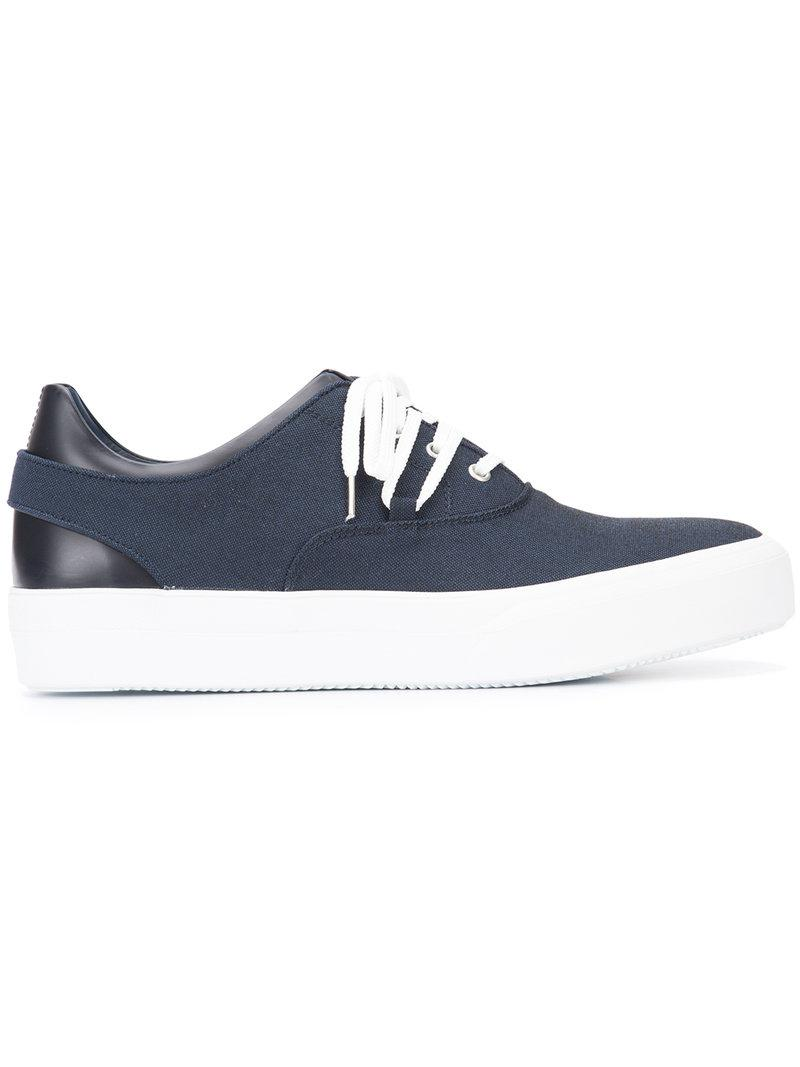 OAMC. Men's Blue Lace-up Sneakers