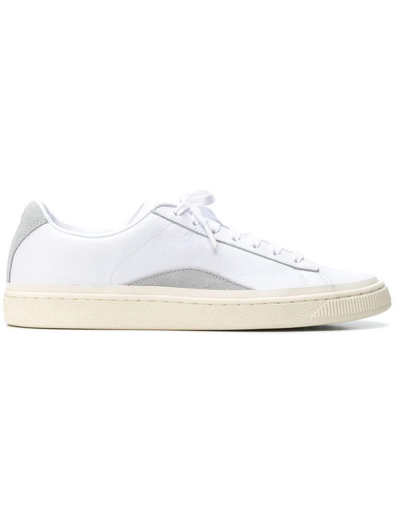 Puma Low-top Sneakers in White for Men - Lyst 757fb6653