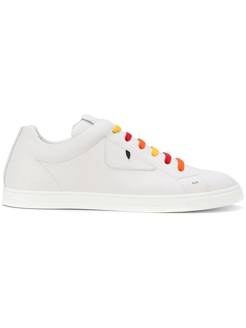 stud detail sneakers - White Fendi xFffqH1T