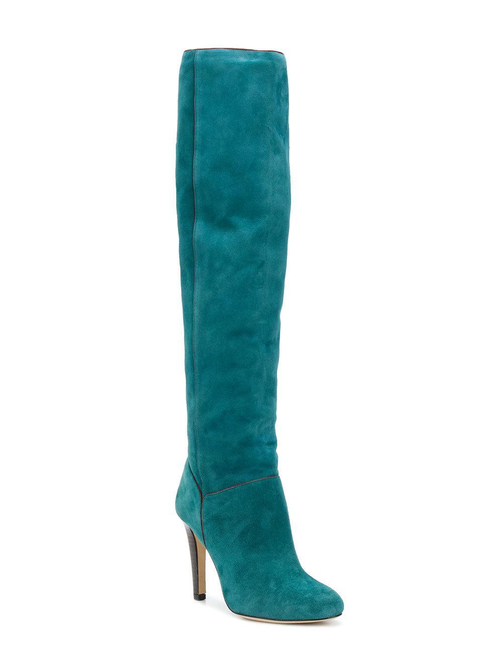 Vanessa Blue Boots